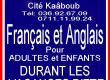 Français et Anglais pour TOUS
