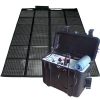 Kit gnrateur solaire portable 220V-12V-200W &#8211; 100% NEUF