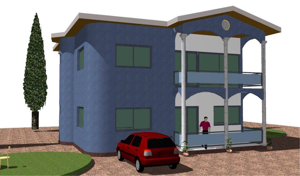 conception et ventes des plans de villas duplex