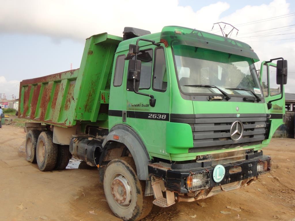 35 000 000fcfa camion benne mercedes 2638 occasion. Black Bedroom Furniture Sets. Home Design Ideas