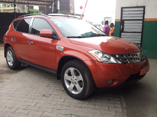 6 400 000fcfa nissan murano 4x4wd version 2005 premier. Black Bedroom Furniture Sets. Home Design Ideas