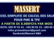 MASSERT: LOGICIEL SIMPLIFIE DE CALCUL DES SALAIRES POUR PME / TPE