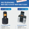 Déstockage téléphones Motorola sans fil