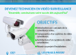 Devenir technicien en video surveilance