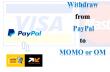 echange des devises paypal contre du cash