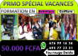 Formation Spécial vacance