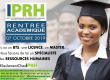 RENTREE ACADEMIQUE IPRH, 2019 – 2020