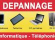 Dépannage, deblocage, reprogrammation de téléphones et ordinateurs