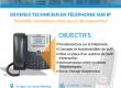 Formation en ligne: Devenir technicien en téléphonie IP