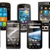 Smartphones Androïd et Apple