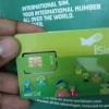 Carte Sim internationale avec numéro américain ou anglais…