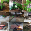 Atelier de Recyclage à vendre pour papiers, cartons et plastiques