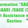 Assistance en gestion et Formation +SAGE SAARI /SAGE i7+