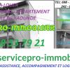 SERVICEPRO-IMMOBILIER VOUS ASSISTE, VOUS ACCOMPAGNE ET VOUS LOGE !