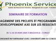 SEMINAIRE DE FORMATION «MANAGEMENT DES PROJETS ET PROGRAMMES DE DEVELOPPEMENT