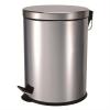 poubelle à pédale inox 30 litres