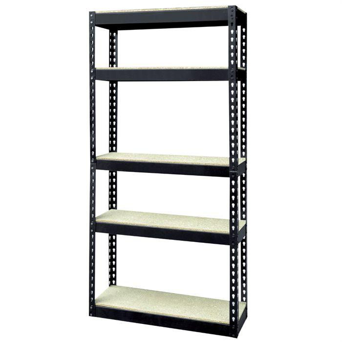 Mobiliers meubles de bureaux rangements etag res - Etageres metalliques castorama ...