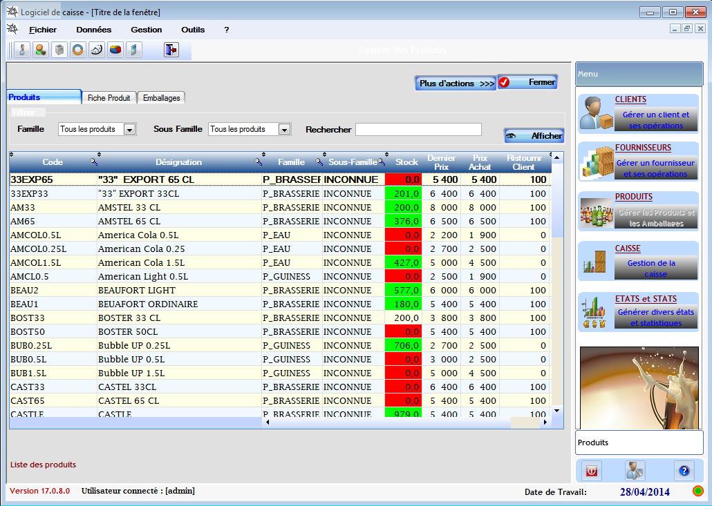 logiciel de gestion d pot de boisson gbfacturation petites annonces gratuites en cote d 39 ivoire