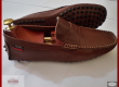 Tod's gommini mocassin driving shoes sans cravate cuir/nubuck