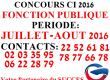 COURS DE PRÉPARATION CONCOURS DE LA FONCTION PUBLIQUE / INFAS CI