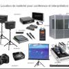 Location de matériel d'interprétariat pour conférence