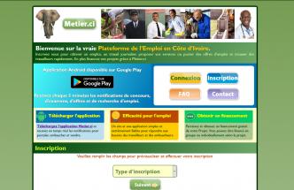 Metier.ci: Recherche d'emploi, de services, embauche en Côte d'Ivoire