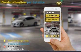 Systeme de geolocalisation par satellite GPS (Tracking)