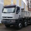 camion 8×4 renault kerax benne