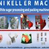 teknikeller des machines Turques dédiées à la production et l'emballage de sucre .