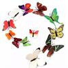 Lot De 12 Stickers Papillons 3D Autocollants Muraux