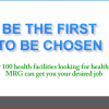 Jobs for Health Professionals