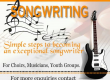 Learn to write your own songs – Easy steps.
