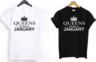 Month T shirts