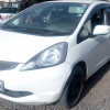 Honda Fit 1330 Cc Vtec Petrol Engine White Colour 2009