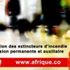 Guinée extincteurs d'incendie Conakry