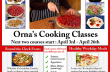 April Cooking Classes – Healthy Weekday Meals