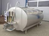 Stainless Steel Brand New Bulk Milk Cooling Tank-2000 Liters
