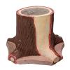 🥀🌼Des Pots de fleurs très stylés, au motif de tronc d'arbre 🌲