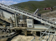 Installation de concassage et de criblage de 50 tonnes par heure