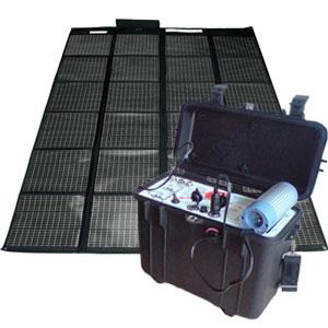 Kit g n rateur solaire portable 220v 12v 200w 100 neuf for Piscine portable maroc