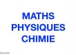 Cours de soutien en maths et physique àdomicile