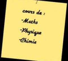 Cours de maths et physique pour tous niveaux