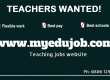 Massive Teachers Recruitment