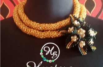 Checkout this beautiful bead necklaces: hustersbeads