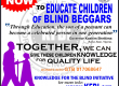 EDUCATION OF BLIND BEGGARS CHILDREN