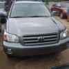 clean Toyota highlander for sale