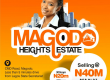 Serviced Plots in Magodo GRA II
