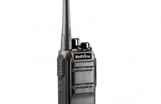 TD371 BelFone 32 Channels Black Two Way Radio Digital Walkie Talkie