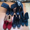 Used Winter Shoes Mixed Woman Man Children