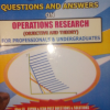 500 QUESTIONS AND ANSWERS ON OPERATIONS RESEARCH
